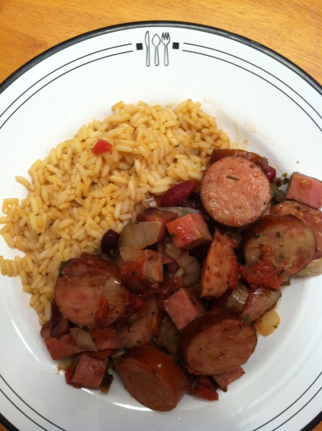 Red Beans and Rice… crock pot style! And Cajun?