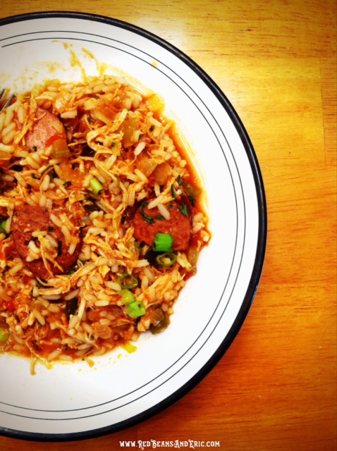Forgotten Once Jambalaya recipe from Red Beans and Eric!
