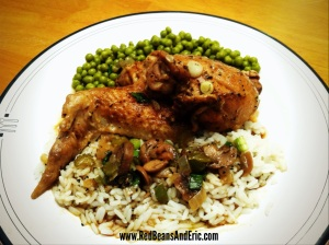 New Orleans Style Stewed Chicken from Red Beans and Eric!