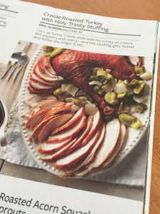 Red Beans & Eric's CREOLE ROASTED TURKEY recipe inside of Taste of Home magazine!