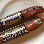 Swedish Sausage Dopp i grytan by RedBeansAndEric.com!