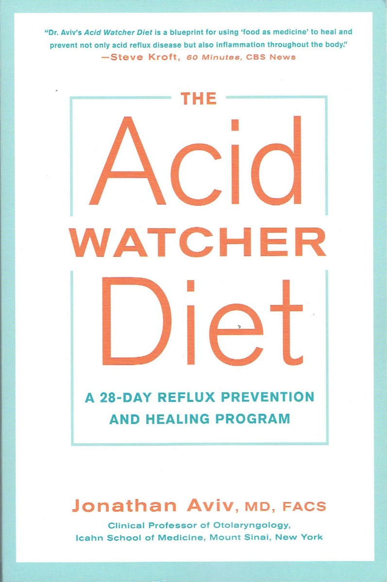COOKBOOK REVIEW: THE ACID WATCHER DIET by Dr Jonathan Aviv